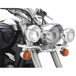 Cobra Lightbar - Chrome - 2012 Kawasaki Vulcan 1700 Classic - VN1700E Cobra Sissy Bar Luggage Rack - Chrome