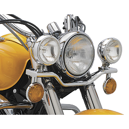 Cobra Lightbar - Chrome - 2003 Yamaha V Star 1100 Silverado - XVS1100AT Cobra Lightbar - Chrome