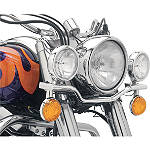 Cobra Lightbar - Chrome - Cruiser Motorcycle Light Bars