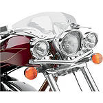 Cobra Lightbar Relocator Kit - Cruiser Motorcycle Light Bars