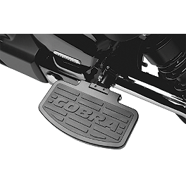 Cobra Passenger Floorboards - Black - 2008 Honda Shadow Aero 750 - VT750CA Cobra Freeway Bars - Black
