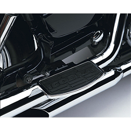 Cobra Passenger Floorboards - Chrome - Cobra Passenger Floorboards - Swept Chrome