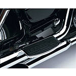 Cobra Passenger Floorboards - Chrome - Cobra Dirt Bike Products
