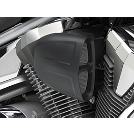 Cobra PowrFlo Air Intake System - Black - 2011 Honda Interstate 1300 ABS - VT1300CTA Cobra Lightbar - Chrome