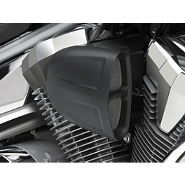 Cobra PowrFlo Air Intake System - Black - 2011 Yamaha Stryker - XVS13CA Yamaha Star Accessories Rear Chrome Luggage Rack - Short