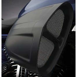Cobra PowrFlo Air Intake System - Black - 2008 Yamaha V Star 1300 - XVS13 Cobra Headlight Visor - 7 1/2