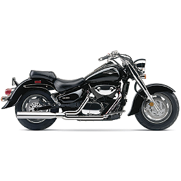 Cobra Power Pro HP 2 Into 1 Exhaust - 2005 Suzuki Boulevard C90T - VL1500T Cobra Headlight Visor - 7 1/2
