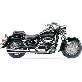 Cobra Power Pro 2 Into 1 Exhaust - 2007 Suzuki Boulevard C90 - VL1500B Cobra Headlight Visor - 7 1/2