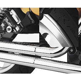 Cobra Swingarm Cover - 2007 Suzuki Boulevard M109R LE - VZR1800Z Show Chrome Front LED Turn Signal Conversion Kit