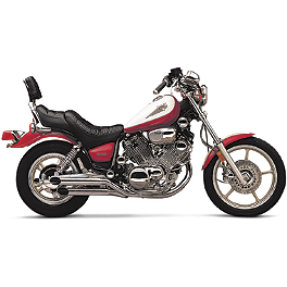 Cobra Slash Cut Slip-On Exhaust - 1994 Yamaha Virago 750 - XV750 Vance & Hines Classic 2 Exhaust