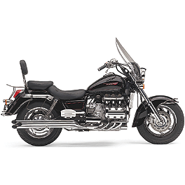 Cobra Slashcut Drag Pipe 6 To 6 Exhaust - 1999 Honda Valkyrie Tourer 1500 - GL1500CT Cobra Headlight Visor - 7 1/2