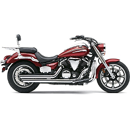 Cobra Speedster Slashdown Exhaust - 2011 Yamaha V Star 950 - XVS95 Cobra Power Pro HP 2 Into 1 Exhaust