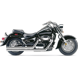 Cobra Speedster Long Exhaust - 2009 Suzuki Boulevard C90T - VL1500T Cobra Headlight Visor - 7 1/2