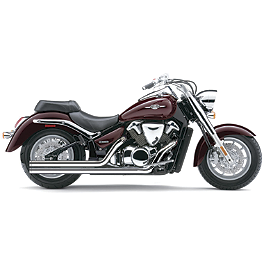 Cobra Speedster Long Exhaust With Bung - 2009 Suzuki Boulevard C109RT - VLR1800T Cobra Headlight Visor - 7 1/2