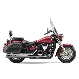 Cobra Speedster Long Exhaust - 2008 Yamaha V Star 1300 Tourer - XVS13CT Cobra Power Pro HP 2 Into 1 Exhaust