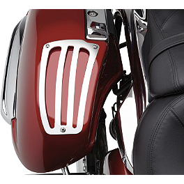 Cobra Saddlebag Lid Guard - 2009 Kawasaki Vulcan 1700 Voyager ABS - VN1700B Cobra Headlight Visor - 7 1/2
