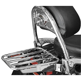 Cobra Tube Solo Luggage Rack For OEM Backrest - Cobra Formed Solo Luggage Rack For OEM Backrest