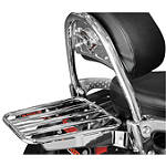 Cobra Tube Solo Luggage Rack For OEM Backrest - Cobra Cruiser Tail Bags