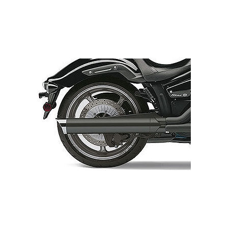 Cobra Scalloped Tip Slip-On Exhaust - Black - Main