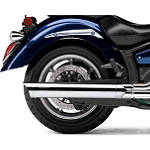Cobra Scalloped Tip Slip-On Exhaust -  Metric Cruiser Slip On Exhaust Systems