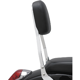 Cobra Standard Sissy Bar - Chrome - 2010 Honda Stateline 1300 - VT1300CR Cobra Headlight Visor - 7 1/2