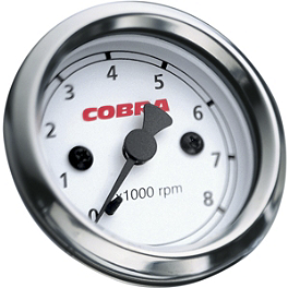 Cobra Cobra Tachometer - Chrome - 2003 Yamaha V Star 1100 Silverado - XVS1100AT Cobra Lightbar - Chrome