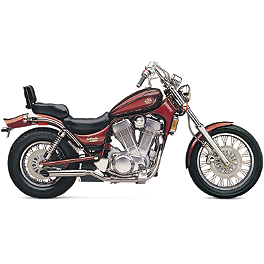 Cobra 2-Sided Slashcut Slip-On Exhaust - 2008 Suzuki Boulevard S83 - VS1400GLPB Cobra Headlight Visor - 7 1/2