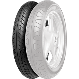 Continental Ultra TKV11 Front Tire - 110/90-16V - Continental Ultra TKV12 Rear Tire - 110/90-18H