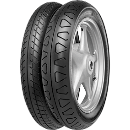 Continental Ultra TKV11/TKV12 Tire Combo - Continental Milestone Rear Tire - 140/90-16H