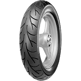 Continental GO! Rear Tire - 140/80-17VB - Continental GO! Front Tire - 110/70-17HB