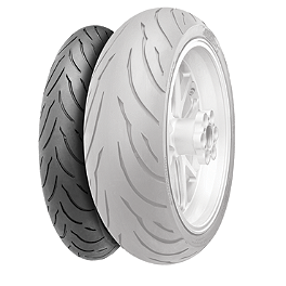 Continental Motion Front Tire - 120/60ZR17 - Continental Race Attack Custom Radial Front Tire - 120/70-21
