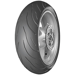 Continental Motion Rear Tire - 170/60ZR17 - Continental Race Attack Custom Radial Front Tire - 120/70-21