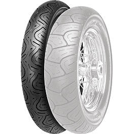 Continental Milestone Front Tire - 80/90-21H - Continental Milestone Rear Tire - 150/80-16H Wide Whitewall