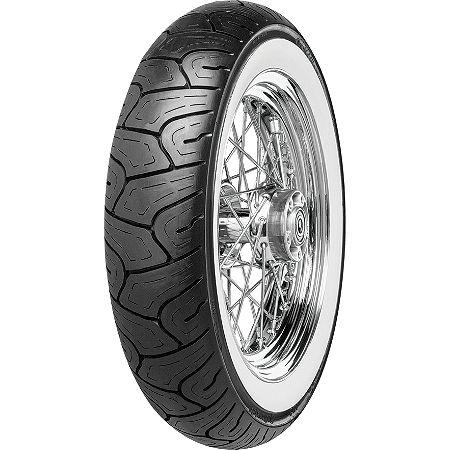 Continental Milestone Rear Tire - 150/80-16H Wide Whitewall - Main