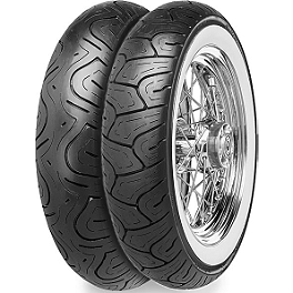 Continental Milestone Wide Whitewall Tire Combo - Dunlop Harley Davidson D402 Wide Whitewall Tire Combo