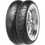 Continental Milestone Wide Whitewall Tire Combo -  Motorcycle Tires and Wheels