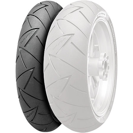 Continental Road Attack 2 Front Tire 120/70ZR17 - Main