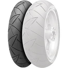 Continental Road Attack 2 Front Tire 120/70ZR17 - Continental Trail Attack Dual Sport Tire Combo