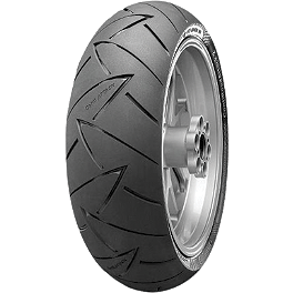 Continental Road Attack 2 Rear Tire 190/55ZR17 - Continental Race Attack Custom Radial Front Tire - 120/70-21