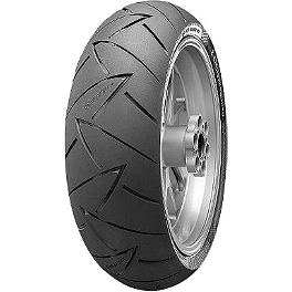 Continental Road Attack 2 GT Touring Radial Rear Tire - 180/55ZR17 - Continental Sport Attack 2 Hypersport Radial Rear Tire - 190/50ZR17