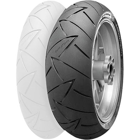 Continental Road Attack 2 Hypersport Touring Radial Rear Tire - 160/60ZR18 - Main