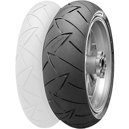 Continental Road Attack 2 Hypersport Touring Radial Rear Tire - 160/60ZR18 - Continental Race Attack Custom Radial Front Tire - 120/70-21