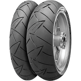 Continental Road Attack 2 Tire Combo - Continental Sport Attack 2 Hypersport Radial Rear Tire - 190/55ZR17