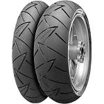 Continental Road Attack 2 Tire Combo - Motorcycle Tires