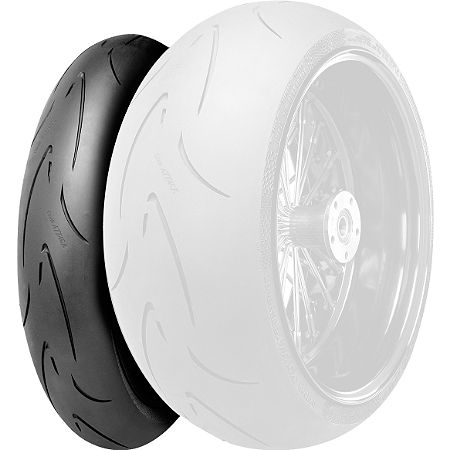 Continental Race Attack Custom Radial Front Tire - 120/70-21 - Main