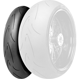 Continental Race Attack Custom Radial Front Tire - 120/70-21 - Continental Sport Attack 2 Hypersport Radial Rear Tire - 190/50ZR17