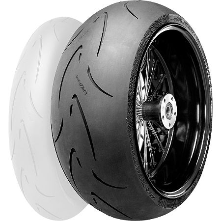Continental Race Attack Custom Radial Rear Tire - 240/40ZR18 - Main