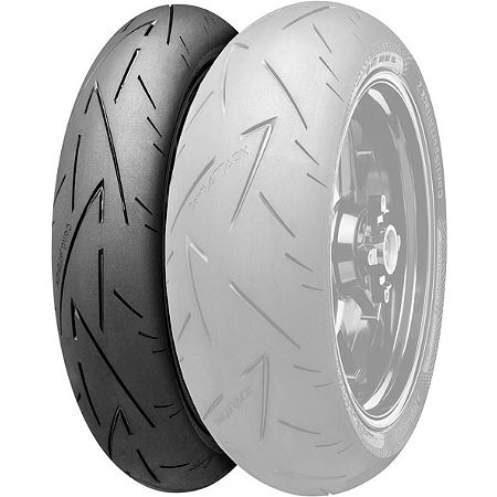 Continental Sport Attack 2 Hypersport Radial Front Tire - 120/60ZR17 - Main