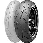 Continental Sport Attack 2 Hypersport Radial Rear Tire - 180/55ZR17 - CONTINENTAL-180-55ZR17 Motorcycle tires