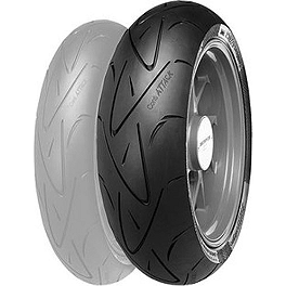 Continental Sport Attack 2 C BMW Rear Tire - C190/50ZR17 - Continental Race Attack Custom Radial Rear Tire - 240/40ZR18